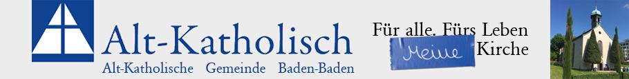 Alt-Katholische Pfarrgemeinde  Baden-Baden Logo