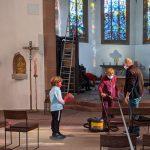 Spitalkirche putzen