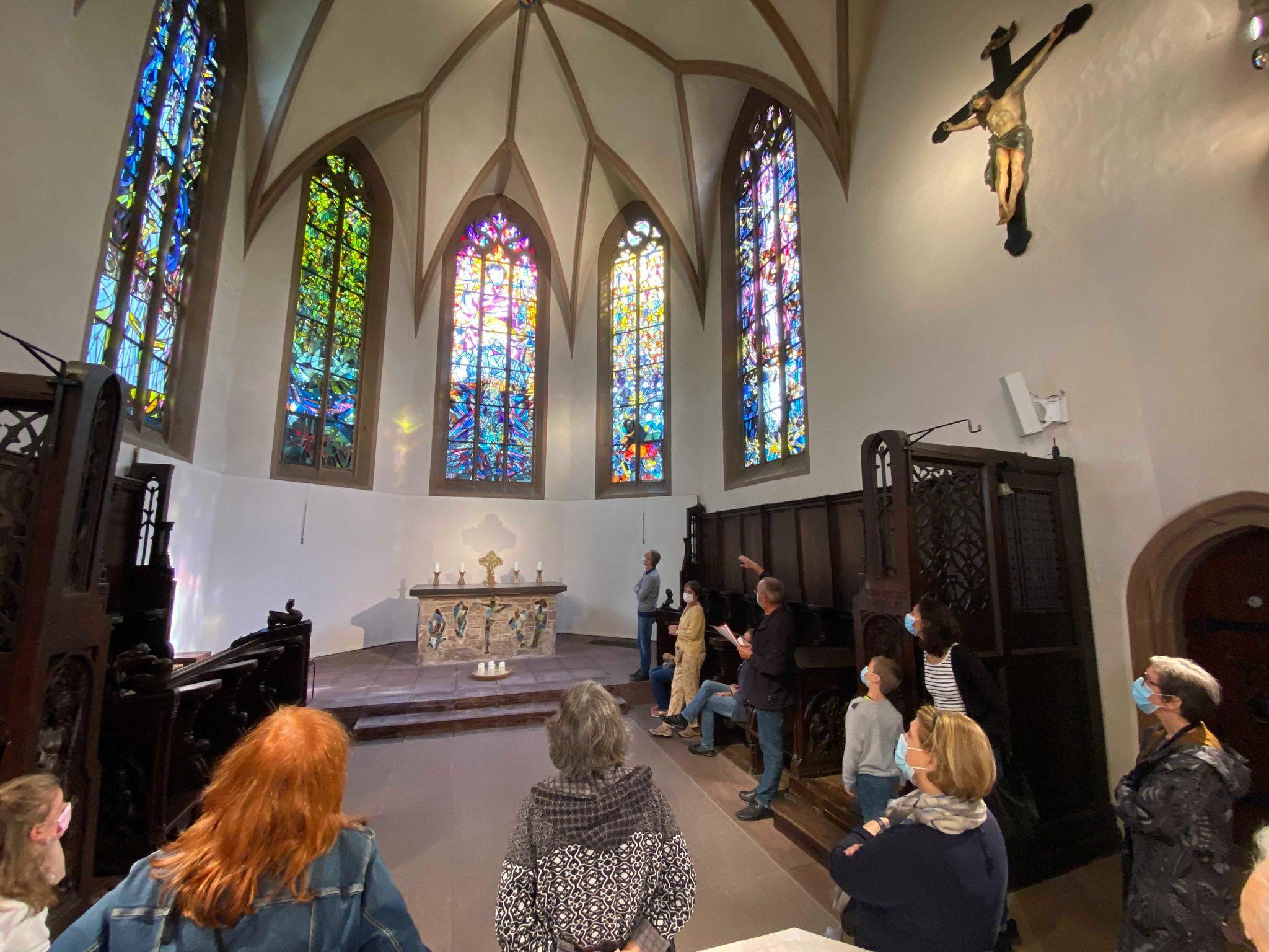 Führung Kirchenfenster